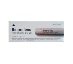 IBUPROFENO FARMASIERRA TOPICO (50 MG/G GEL TOPICO 50 G )