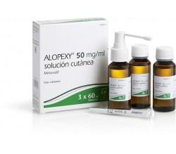 ALOPEXY (50 MG/ML SOLUCION CUTANEA 3 FRASCOS 60 ML )