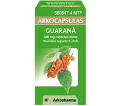 ARKOCAPSULAS GUARANA (340 MG 50 CAPSULAS )