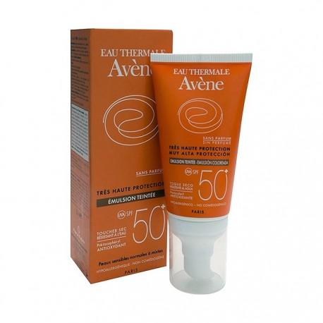 Avene Solar SPF50+ Emulsion Coloreada 50ml